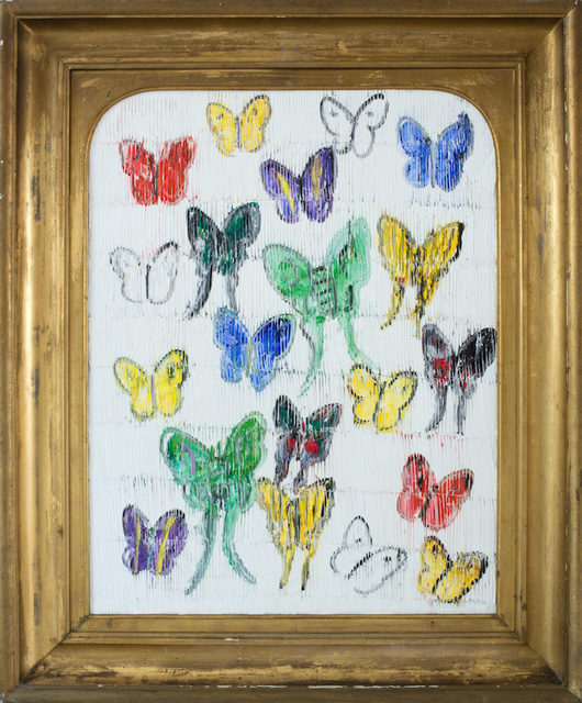 , 'White Butterflies (CER00033),' 2017, Madison Gallery
