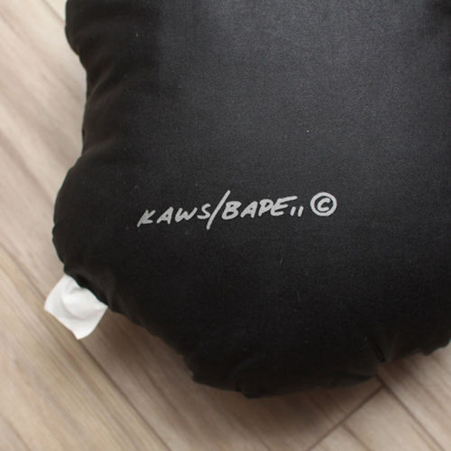 KAWS, 'Limited Edition Bathing Ape cotton Pillow', 2001, Design/Decorative Art, Screenprint on sewn cotton with polyester fill, EHC Fine Art Gallery Auction