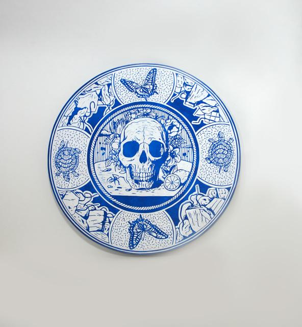 Kenichi Yokono, 'Vanitas - Still Life (Picture Plate)', 2012, Mark Moore Fine Art
