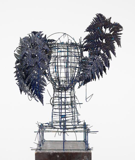 , 'Blue Ferns II,' 2016, Marlborough Gallery
