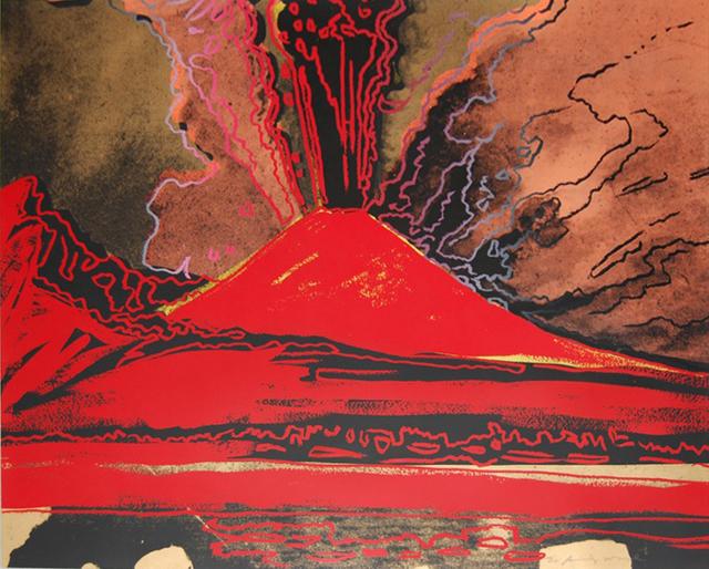 Andy Warhol, 'Mount Vesuvius', 1985, IFAC Arts