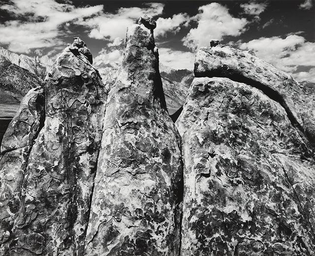 Ansel Adams, 'Pinnacles, Alabama Hills, Owens Valley, California, From Portfolio V', 1945, Atlas Gallery