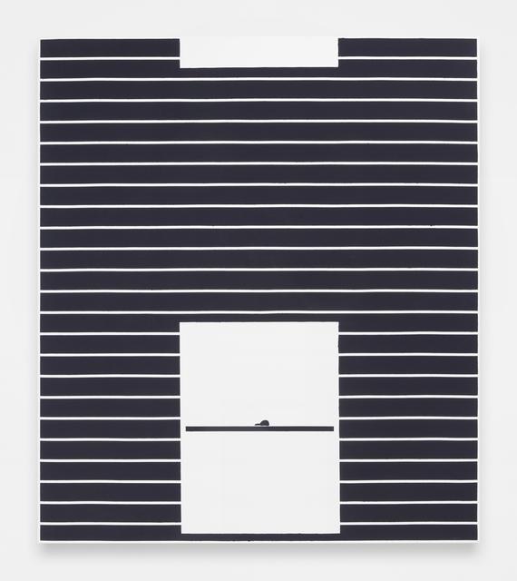Andrew Gbur, 'House Painting (black)', 2014, The Still House Group