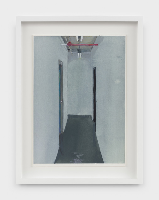 , 'Hallway, Canal Place,' 2019, Rachel Uffner Gallery