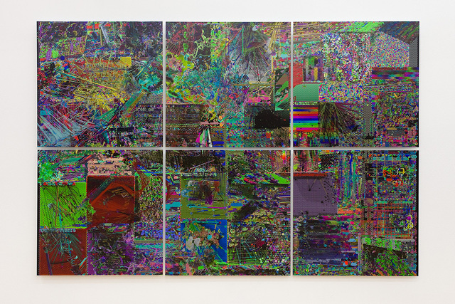 , 'slice_dynamic_grid_resolution,' 2011, Winkleman Gallery