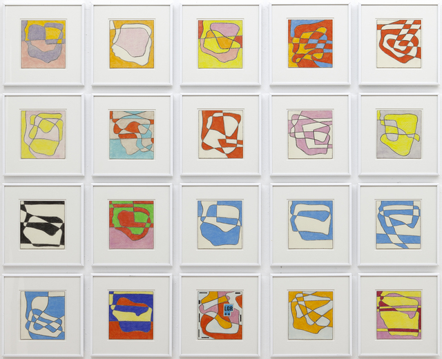 , 'Ohne Titel - 20 drawings,' 2007-2008, Jahn und Jahn