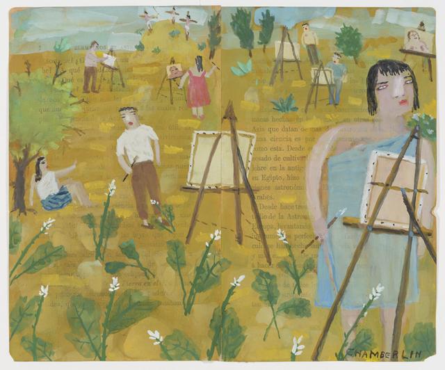 , 'Calvario and Painters,' 2018, Lora Schlesinger Gallery