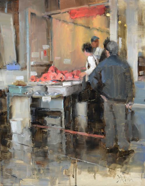 , 'Fish Market in Chinatown,' 2015, Abend Gallery