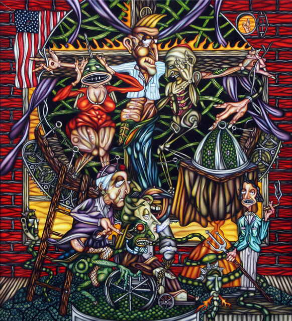 Thom Whalen, 'Christ Goes to Hollywood', 2016, Springfield Art Association