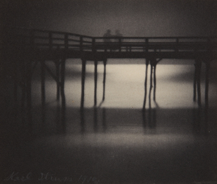 Karl Struss, 'Reflections, Moonlight, Arverne, Long Island,' 1910, Phillips: The Odyssey of Collecting