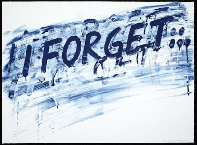 , 'I Forget,' 2014, Maddox Gallery