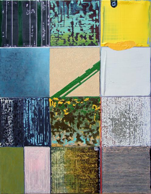 , 'Colourfields,' 2017, Accesso Galleria
