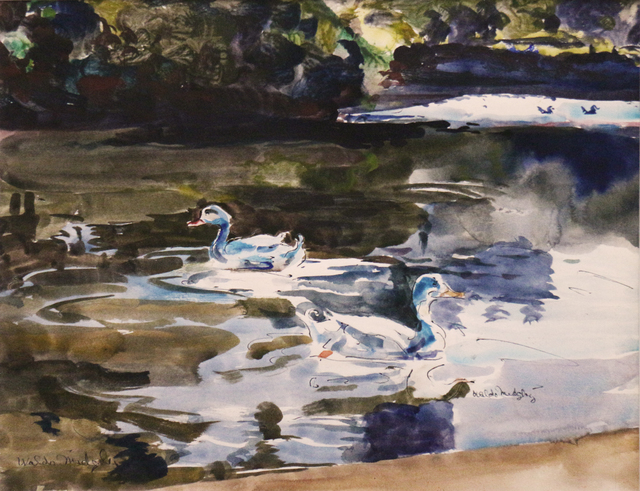 Waldo Park Midgley, 'Morning in the Park', Phillips Gallery