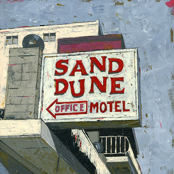""", '""""Sand Dune Motel"""",' 2018, Parlor Gallery"""