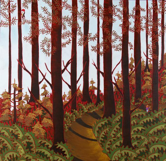 , 'Le Sentier Des Fougeres,' 2014, Studio 21 Fine Art