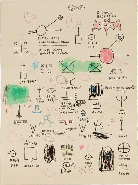 Jean-Michel Basquiat, 'Untitled', Phillips