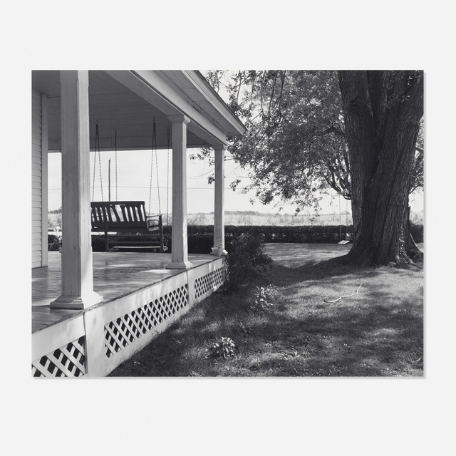 George A. Tice, 'Winslow Farm, Fairmount, Indiana (James Dean's childhood home)', 1985, Wright