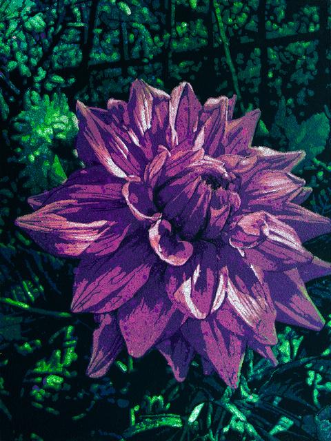 Logan Hicks, 'Monet Flower Closeup - Flower 7 ', 2019, Taglialatella Galleries