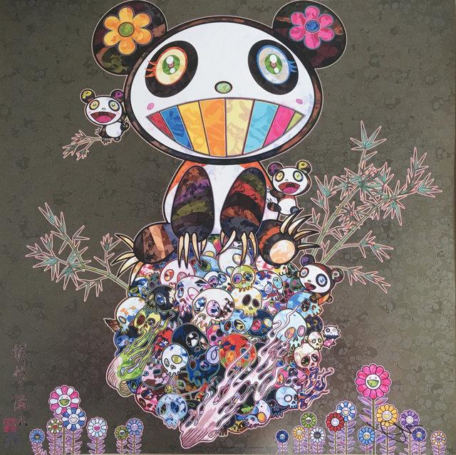 Takashi Murakami, 'Panda and Panda Cubs', 2015, Vogtle Contemporary