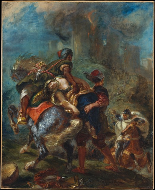 Eugène Delacroix, 'The Abduction of Rebecca', 1846, The Metropolitan Museum of Art