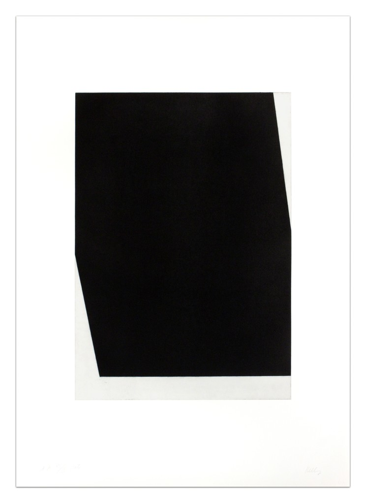 """Ellsworth Kelly """"Concorde I (State) from The Concorde Series"""", 1982"""