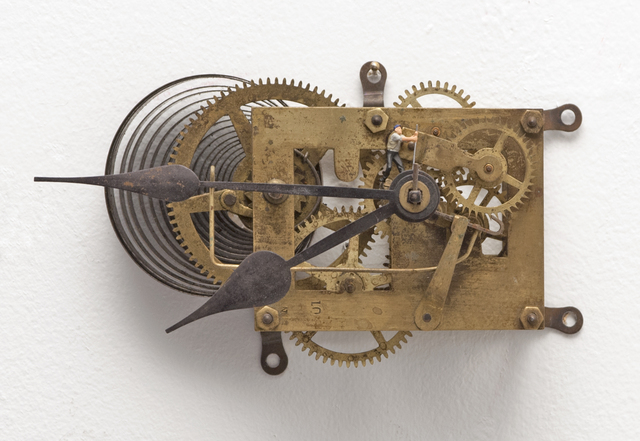 , 'To Fix It (Wall Clock IV),' 2018, Hosfelt Gallery