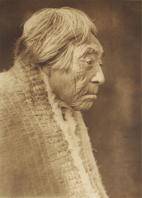, 'A Nootka Woman,' 1907-1930, Empty Gallery