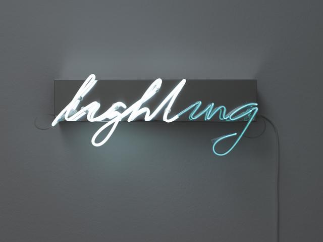 , 'Lighting,' 2010, Galerie Krinzinger