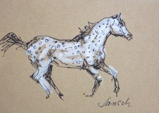 Heather Jansch, 'Dalmation Lady', 2014, Diehl Gallery