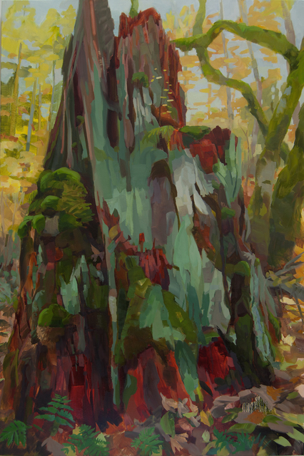 , 'Big Stump,' 2016, Inman Gallery