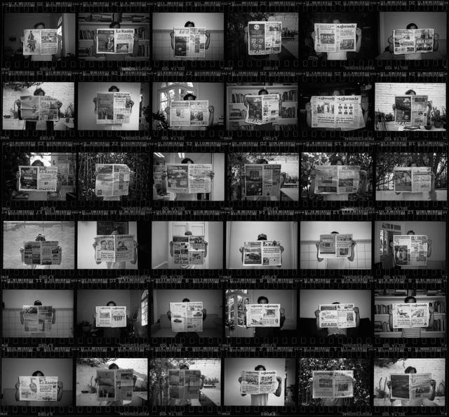 , 'Obstinada Contemplación del trabajo del mañana,' 2018, Machete