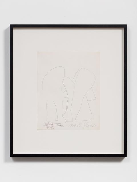 , 'Mohole Flower,' 1966, kurimanzutto