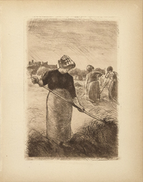 Faneuses (Woman Tossing the Hay)