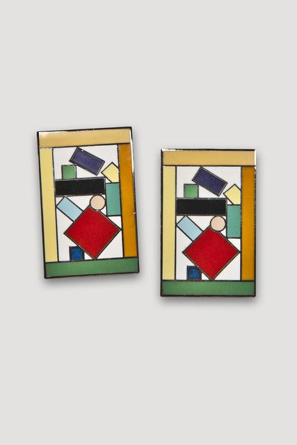 , 'Esmeralda Earrings,' 1985-1986, The Modern Archive