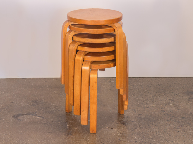 , 'Set of 6 Model 60 Stools for Finsven,' ca. 1950, Open Air Modern