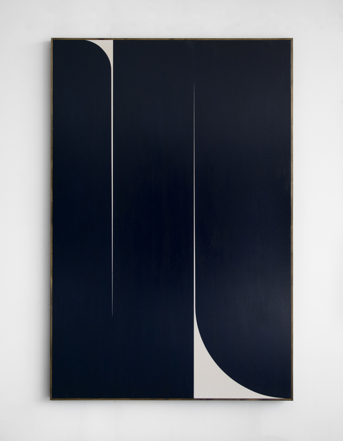 Johnny Abrahams, 'Untitled (Dark Blue)', 2019, Vigo Gallery