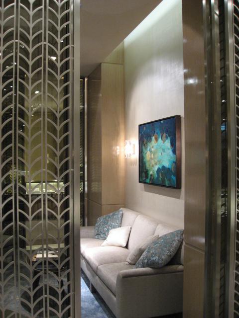 Installation at Tiffany & Co.
