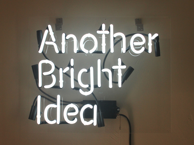 , 'Another Bright Idea,' 2009, Porch Gallery