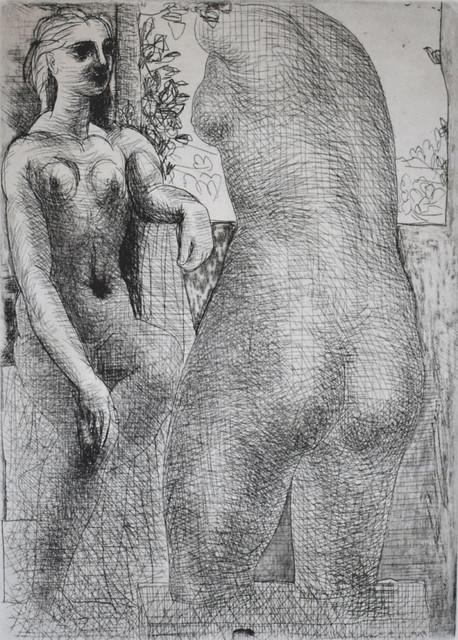 Pablo Picasso, 'Modèle et grande sculpture de dos: La Suite Vollard', 1933, Robin Rile Fine Art