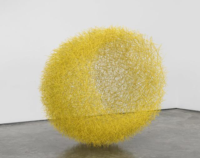 , 'Yellow Nest,' 2018, De Buck Gallery