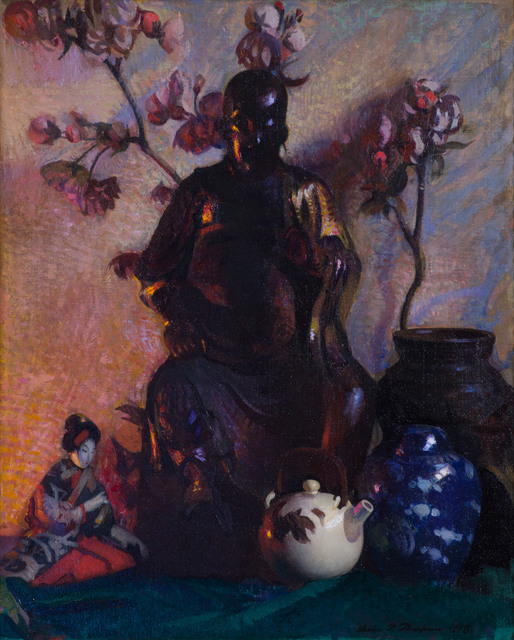 Leslie Prince Thompson, 'Still Life – Buddha ', 1918, Vose Galleries