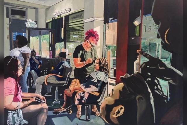 , 'Cherry's Unisex Hair Salon,' 2018 , Ro2 Art