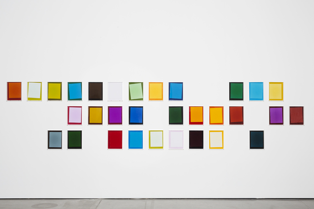 , 'After Matyushin's Guide to Color #1- #30,' 2014, Martin Asbæk Gallery