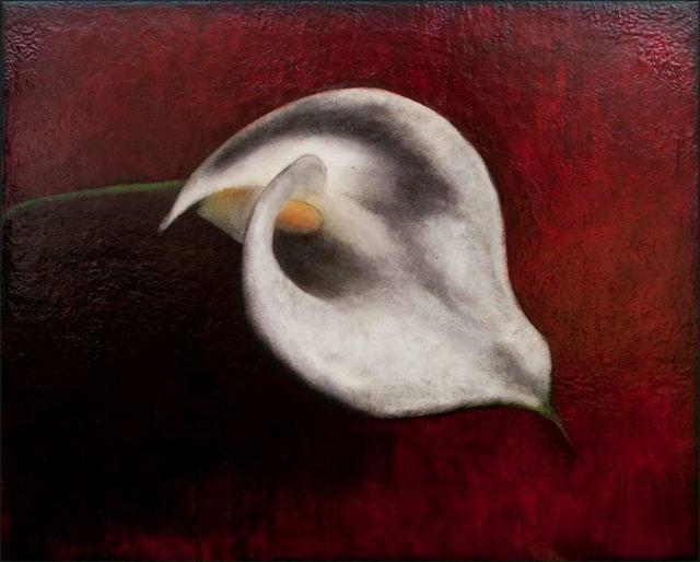 Maggie Hasbrouck, 'Reclining Calla', 2016, Bill Lowe Gallery