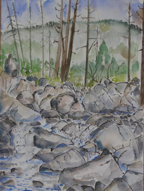 Jay Welden, 'Pyramid Creek', 2018, Tim Collom Gallery
