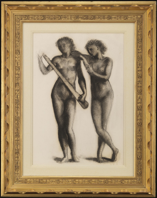 , 'Two Musicians,' 1870, The Fine Art Society