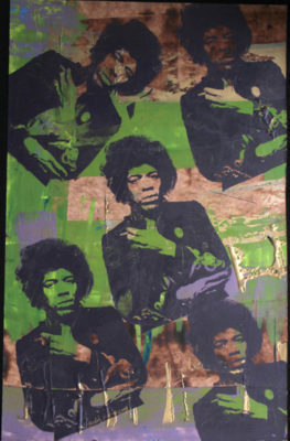 , 'Jimi Hendrix,' , The Loft Fine Art