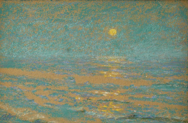 Alexander Harrison, 'Blue Moonlight', ca. 1900, Private Collection, NY