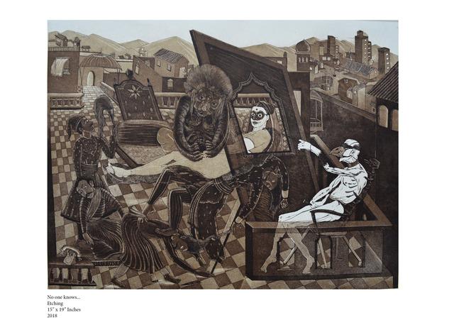 Yogesh Ramakrishna, 'No one knows', 2018, Dhi Artspace