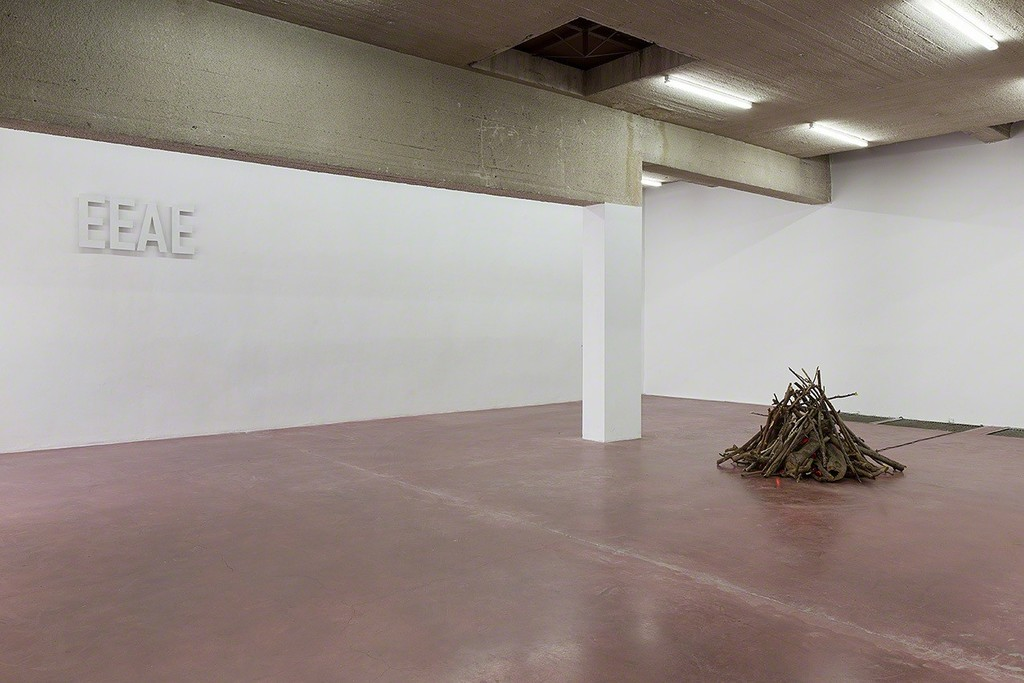 EEAE, 2015, steel - Bonfire, 2013/2015